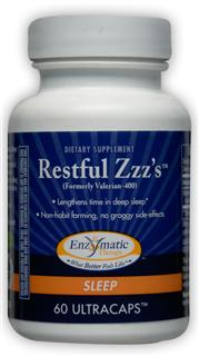 The high-potency standardized valerian root extract in Restful Zzz's has been clinically shown to greatly improve sleep quality..