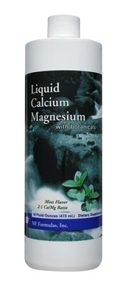 Great tasting Mint flavored Liquid Calcium Magnesium promotes optimal bone health with synergistic bone enhancing ingredients..