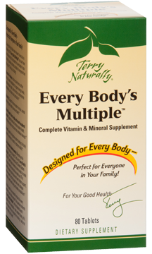 Every Bodys Multiple provides the nutrients everybody needs from the ages of 12 and up..