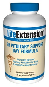 Pituitary gland function diminishes as we age, producing less than optimal growth hormone. Life Extension new formulas support healthy Pituitary Gland functions..