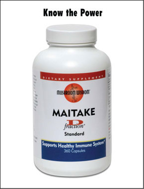 Ultimate Support for a Healthy Immune System, Maitake D-Fraction contains a unique protein-bound Beta-1,3/1,6 glucan, D-fraction..