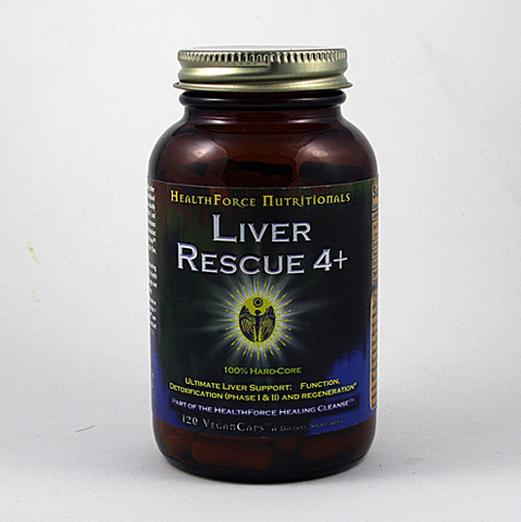 Liver Rescue 5+ from Healthforce Nutritionals is designed with some of nature's most effective liver detoxifying herbs, milk thistle, wasabi and dandelion root..