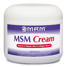 MRM (Metabolic Response Modifiers) MSM Cream may improve skin appearance and health, and may also provide arthritic pain relief..