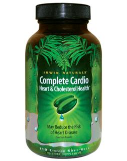 Complete Cardio provides 650 mg of plant sterol esters per serving to reduce and control LDL cholesterol Levels. Pomegranate extract, COQ10, Hawthorn extract and L-Carnitine are included to protect heart and vascular tissues from the effects of aging and stress..