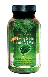 In todays world of low nutrition and high stress Mens Living Green Liquid-Gel Multi is formulated to support the unique nutritional needs of active men. This breakthrough formula combines over 117 nutrients and 72 trace minerals including Omega-3 Essential Fatty Acids..