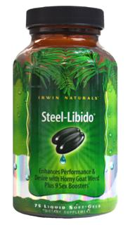 Steel-Libido is a powerful product to support both performance and sexual desire. The ingredients in this formula create a powerful one-two punch for your sexual performance and enjoyment..