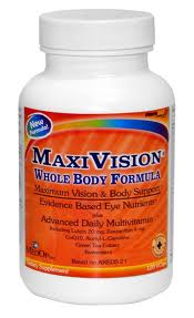 MaxiVision Whole Boby by Medical Opthalmics Inc. provides antioxidant and nutritional support for healthy eye function and overall health. It reduces macular degeneration and promotes good vision while protecting the eyes from the effects of aging..