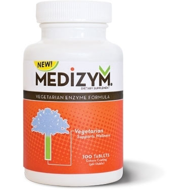 Medizym (new vegetarian formula) from Naturally Vitamins features a highly effective combination of naturally occurring enzymes traditionally used for ultimate immune boosting and pain relieving properties..