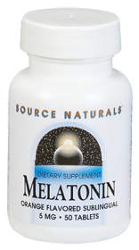 Melatonin is a naturally occurring component in the body which promotes healthy sleep cycles..