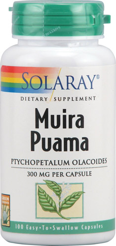 Muira Puama is a traditional Brazilian herbal supplement with long history of use for sexual health..