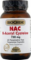 NAC is the most bioavailable pre-cursor of the antioxidant enzyme glutathione peroxidase..