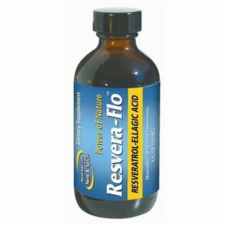 Resvera-Flo, natural form of resveratrol plus ellagic acid. Derived from purple muscadine berries plus wild, raw northern American grapes..