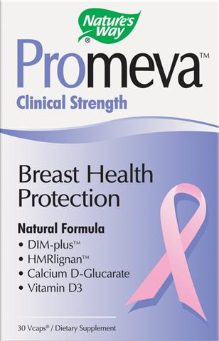 Clinical Strength Promeva contains HMRlignan, DIM-plus, Calcium D-Glucamate and Vitamin D3 a unique formula to support breast health and reduce cyclical breast tenderness..