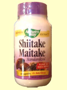 Nature's Way Shiitake Maitake Standardized is a tonic for wellbeing.  The mushroom has also been beneficial for prostate health, including prostate cancer..
