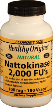 Nattokinase, a dietary supplement extracted from the traditional Japanese food Natto, is becoming more popular everday as a natural alternative medicine supporting cardiovascular health. .