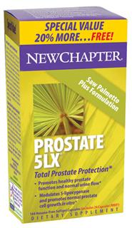 Patented Prostate 5LX Formulation Represents a Supercritical New Chapter in Prostate Health..