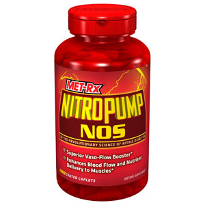 MET-Rx NitroPump NOS is a hardcore vaso-flow booster that has been backed by laboratory testing.