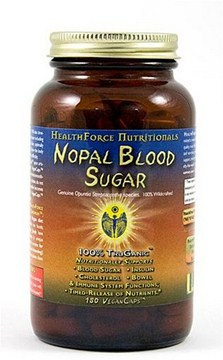 HealthForce Blood Sugar Capsules help support pancreatic insulin and blood sugar function..