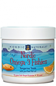 Nordic Omega-3 Fishies are a delicious Fish Oil treat your child will be happy to consume..