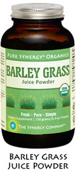 Pure Synergy Organics Barley Grass Juice Powder is a 100% naturally occuring source of healthful phytonutrients including SOD, enzymes and chlorophyll. Organically grown and cold-processed in the USA. Shop Today at Seacoast.com!.