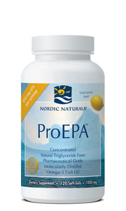 Nordic Naturals ProEPA provides a concentrated source of EPA, an Omega-3 essential fatty acid recommended by doctors for cardiovascular health and proper immune support..