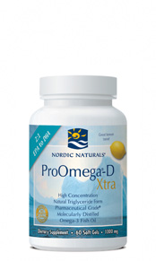 ProOmega-D Xtra contains 1000 I.U. of natural vitamin D3.