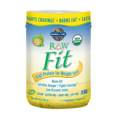 RAW Fit High Protein Powder for Weight Loss is naturally filling and satisfies hunger with a blend of certified organic grains, seeds, legumes and more! Shop Today at Seacoast.com!.