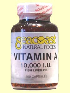 Seacoast Natural Foods Vitamin A provides the body with an essential vitamin for strengthening eyesight, improving skin, and boosting the immune system..