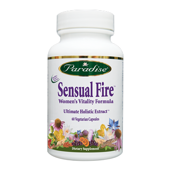 Sensual Fire is the holistic full spectrum herbal formula traditionally used for increasing a womans intimate desires. The warming Yang tonic  may help build sexual vitality over time. Shop Today at Seacoast.com for Natural Women's Health Supplements..