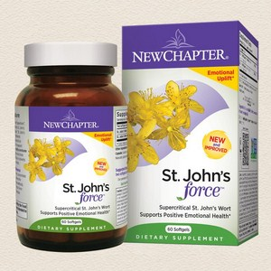 St Johns Wort is a natural herb for depression, emotional anxiety and mood swings..