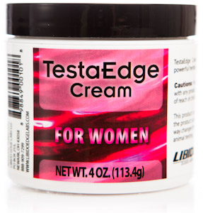 Testosterone Therapy Cream Formulated for Women with a blend of GABA and Damiana Extract.  Buy  online Today at Seacoast!.