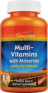 Complete Multi Vitamin Formula at a Very Competitive Price.