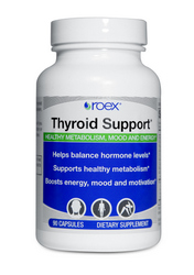 Thyroid Support is fortified with 19 active ingredients and a blend of essential vitamins, minerals, herbs and extracts that promote healthy thyroid function..