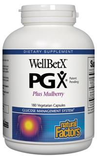 Natural Factors WellBetX PGX (polyglycoplex) is a proprietary blend of plant fiber that reduces appetite by promoting a feeling of fullness..