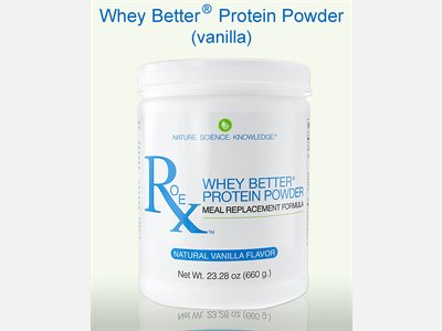 Whey Better Protein Powder by Roex is naturally sweetened with Monk Fruit (Luo Han Guo) Concentrate and is free of any artificial sweeteners, producing a well-balanced meal replacement formula..