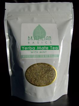 Yerba Mate Tea with Mint helps suppress the appetite while increasing energy levels..