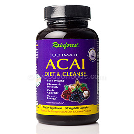 Ultimate Acai Diet & Cleanse, 100% Natural Additive Free Weight Loss Supplements Seacoast Vitamins Direct..