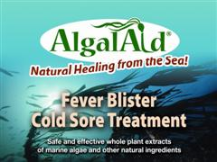 AlgalAid by Blue Moon Botanicals is a soothing cream formulated with marine plants and whole plant extracts to help prevent and diminish the appearance of cold sores and fever blisters while promoting healing. Effective topical cream for treatment of herpes simplex virus, HSV..