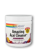 Lemon Berry Flavor Amazing Acai Cleanse by Solaray is a superior source of fiber offering 5 grams of oluble fiber in addition to 1 gram of highly valued Acai..