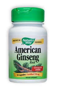 American Ginseng is a traditional vitality herb..