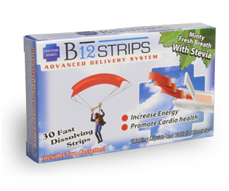 B12 Strips Advanced Delivery System.