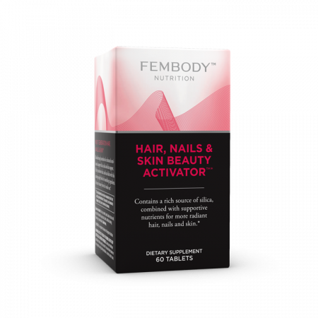 Breakthrough formula with Bamboo Extract plus specialized nutrients for healthy hair, strong nails and radiant skin..