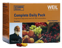 Formulated based on exclusive, scientific evidence, Dr. WEil's Vitamin Advisor Complete Daily Pack has helped millions of health-conscience people worldwide achieve optimal health, energize and balance their lives..