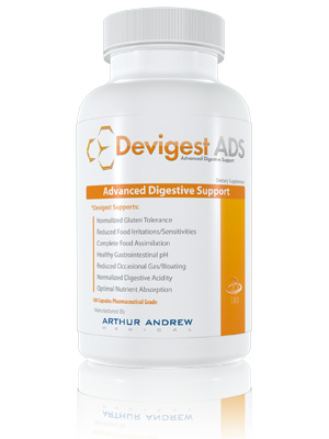Devigest contains a highly potent Peptidase with 500 units of DPP-IV activity per serving plus Alpha Galactosidase, the active ingredient in the ever-popular product Beano..