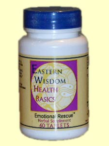 Eastern Wisdom Emotional Rescue (60 Tabs) is a specially designed formula to give your spirit, mind and body a lift.