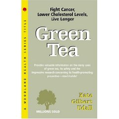 Green Tea Kate Gilbert Udall is an effective and informative book on the benefits and research of green tea.