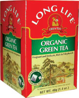 Long Life Organic Green Tea is a delicious and soothing green tea that delivers the body the antioxidants it needs to clear the system of free radicals.