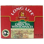 Long Life Green Teas Organic Green Tea is an excellent tasting tea that helps support your body's immune system while also giving it important antioxidants.