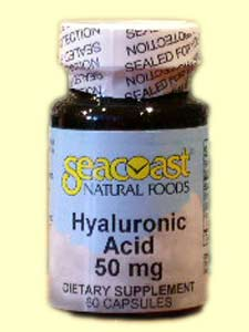 Hyaluronic Acid (60 caps).