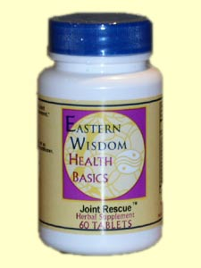 Eastern Wisdom Joint Rescue (60 Tabs) is an effective way to help support the joints and connective tissues.